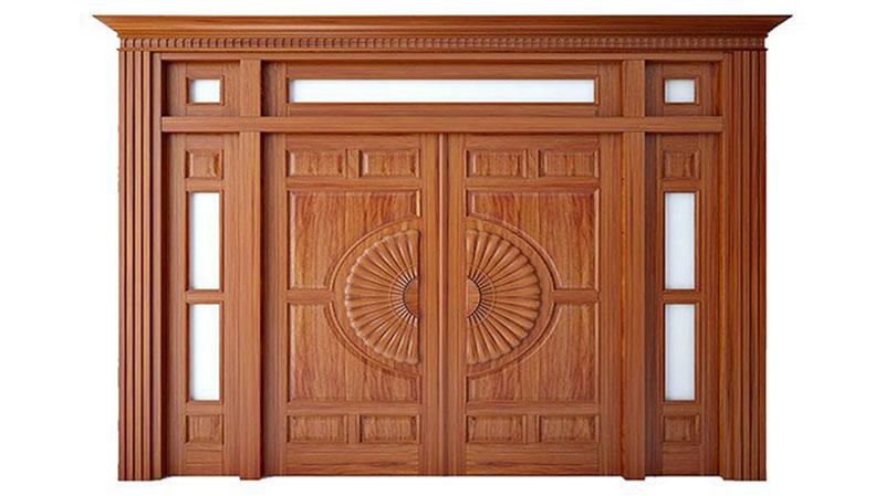 Phong thủy dành cho cửa 4 cánh