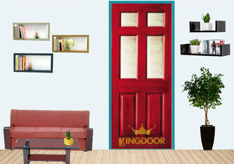 Mẫu cửa gỗ công nghiệp hdf veneer tại Kingdoor