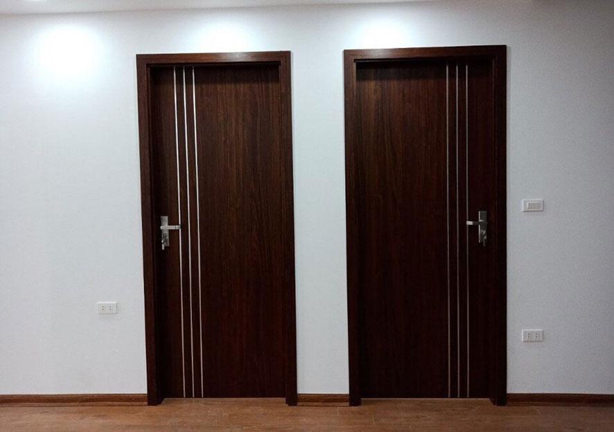 Mẫu cửa gỗ công nghiệp
