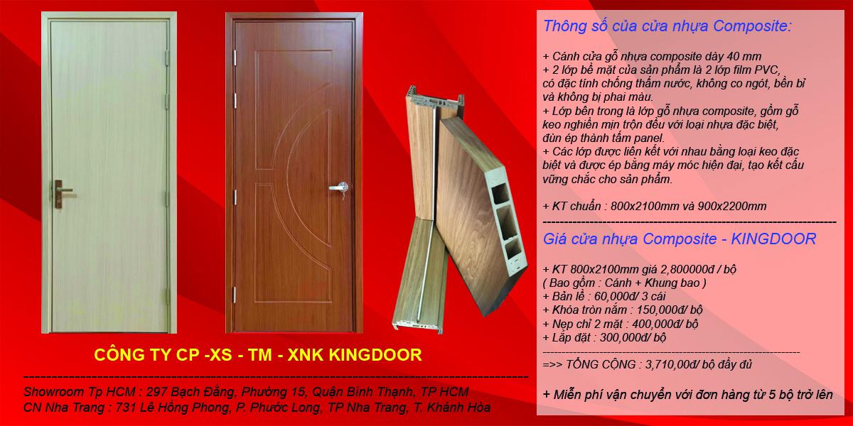 Báo giá chi tiết cửa nhựa composite ( Sungyu )