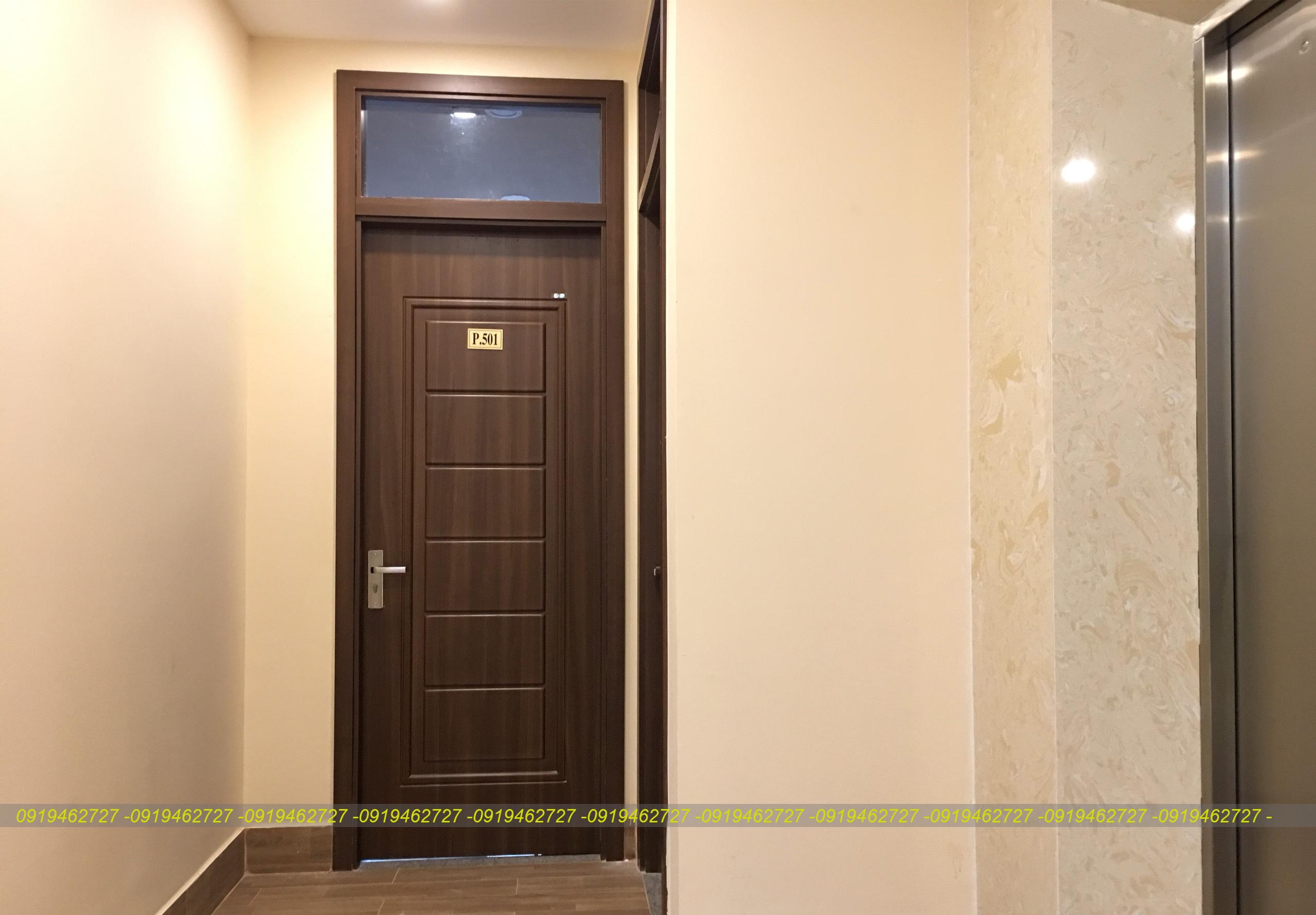 Cửa nhựa ABS Hàn Quốc mẫu đẹp cho khách sạn