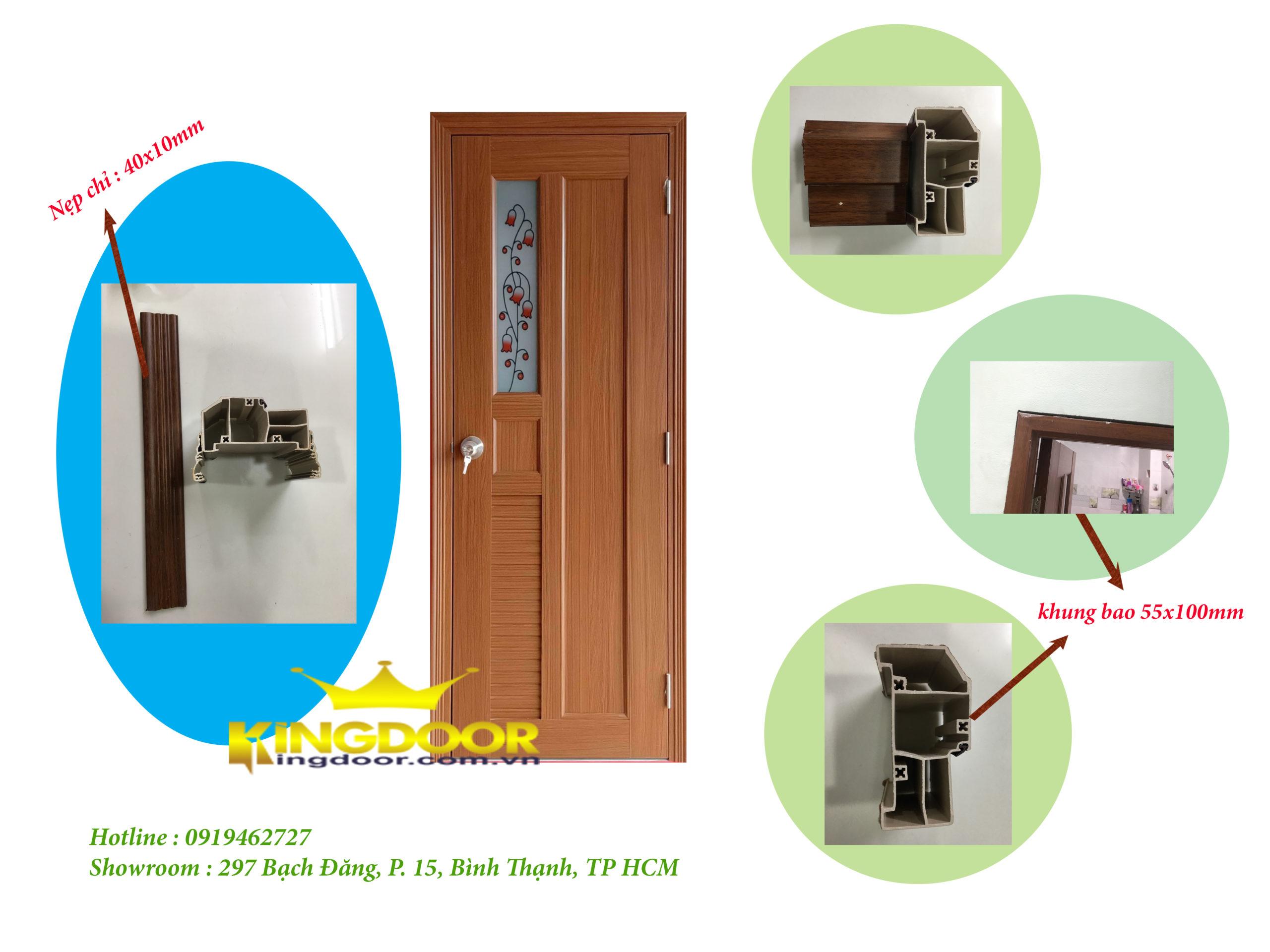 Cấu tạo cửa nhựa đài loan và khung bao nhựa PVC