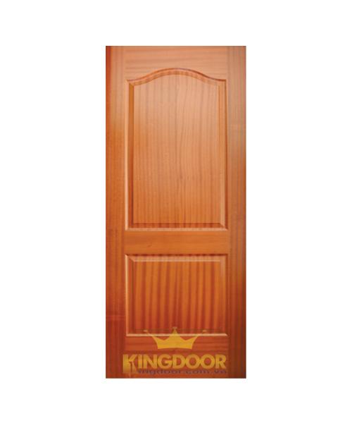 Cửa gỗ công nghiệp HDF veneer KD.2A-SAPELE