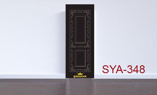 Cửa nhựa gỗ composite mẫu SYA-348