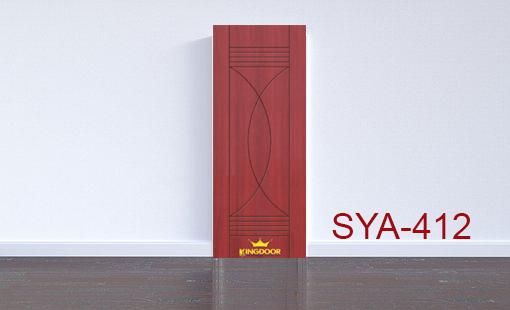 Cửa nhựa gỗ composite mẫu SYA-412