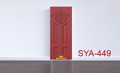 Cửa nhựa gỗ composite mẫu SYA-449