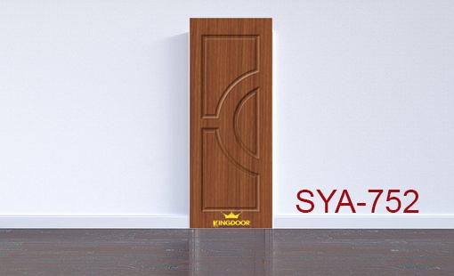 Cửa nhựa gỗ composite mẫu SYA-752