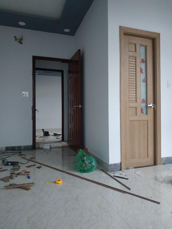 cửa nhựa gỗ composite tại nha trang