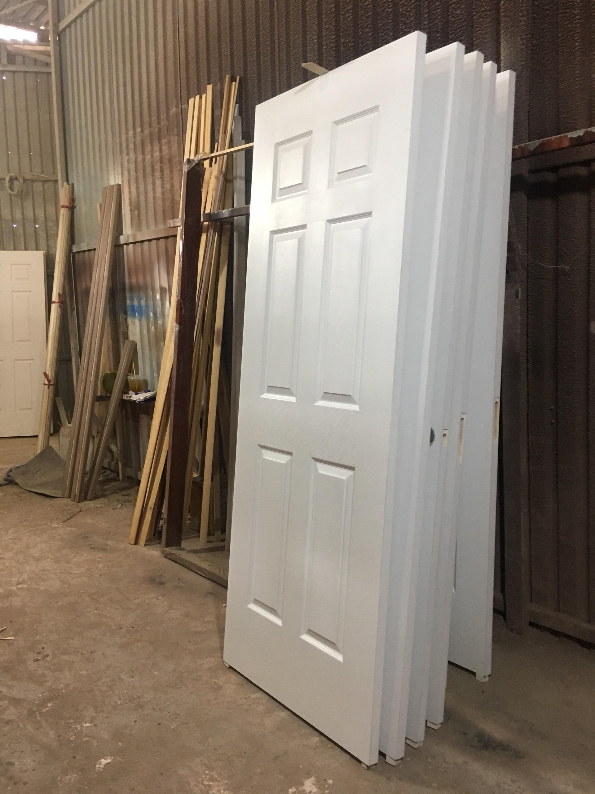 Sản xuất cửa gỗ HDF 6A-C1