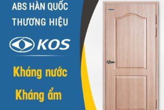 Cửa nhựa ABS Hàn Quốc chính hãng