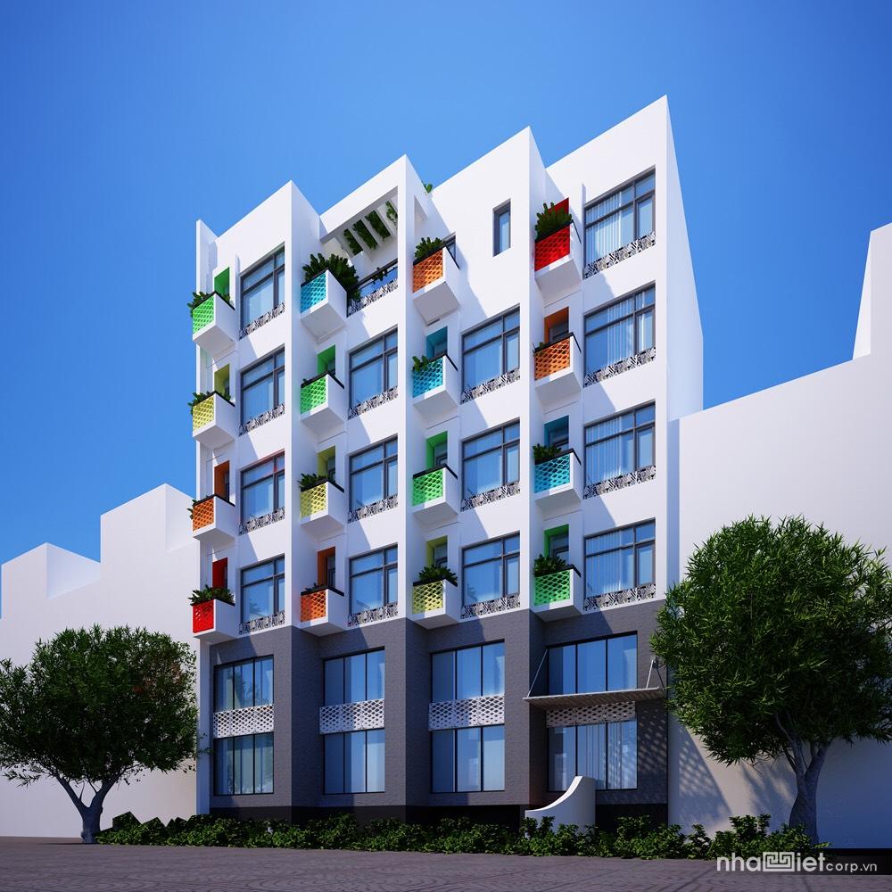Thiết kế 3D khách sạn Rio casa