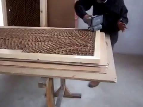 Quy trình ép khung cửa gỗ công nghiệp