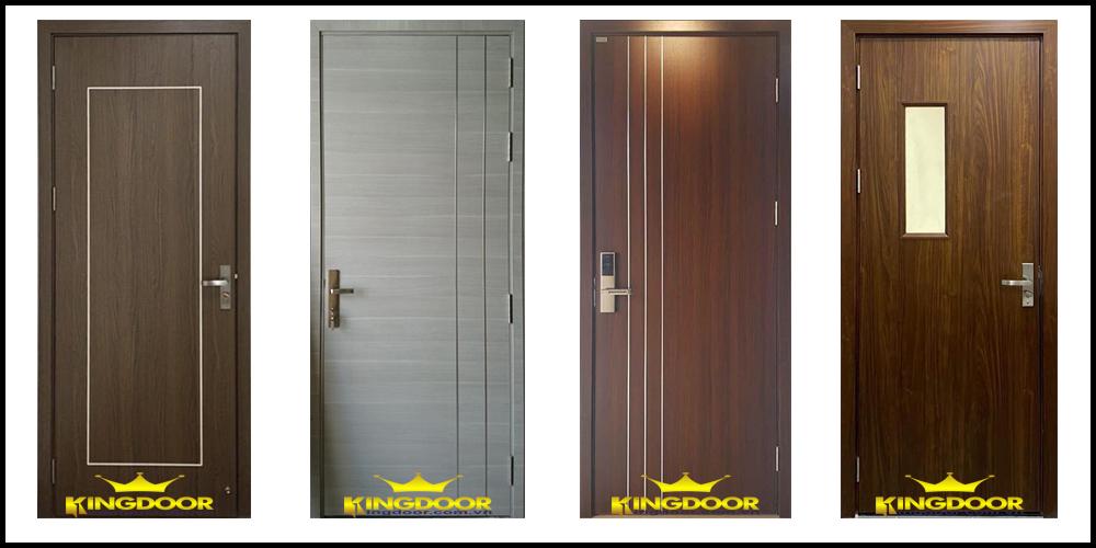 Mẫu cửa gỗ công nghiệp melamine và laminate