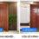 Mẫu cửa gỗ hdf veneer