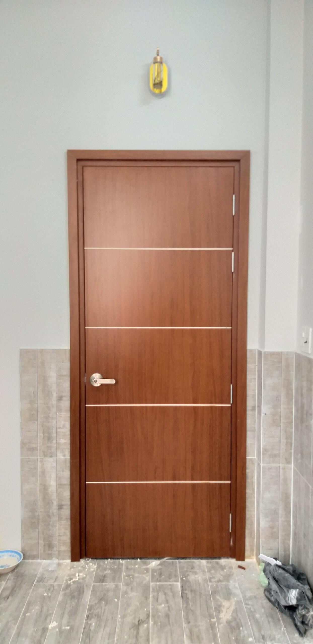 Cửa nhựa gỗ Composite mẫu mới