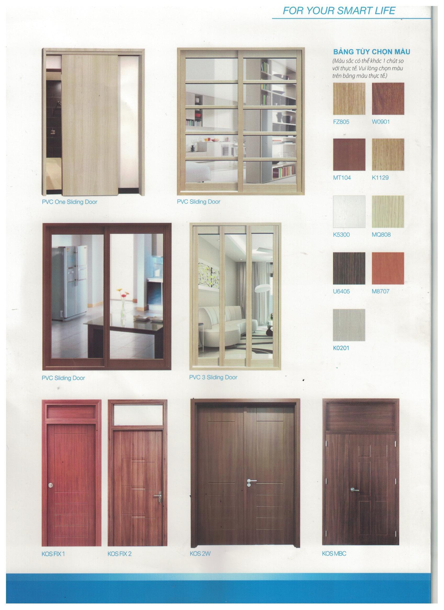 Những mẫu cửa có thiết kế đặc biệt