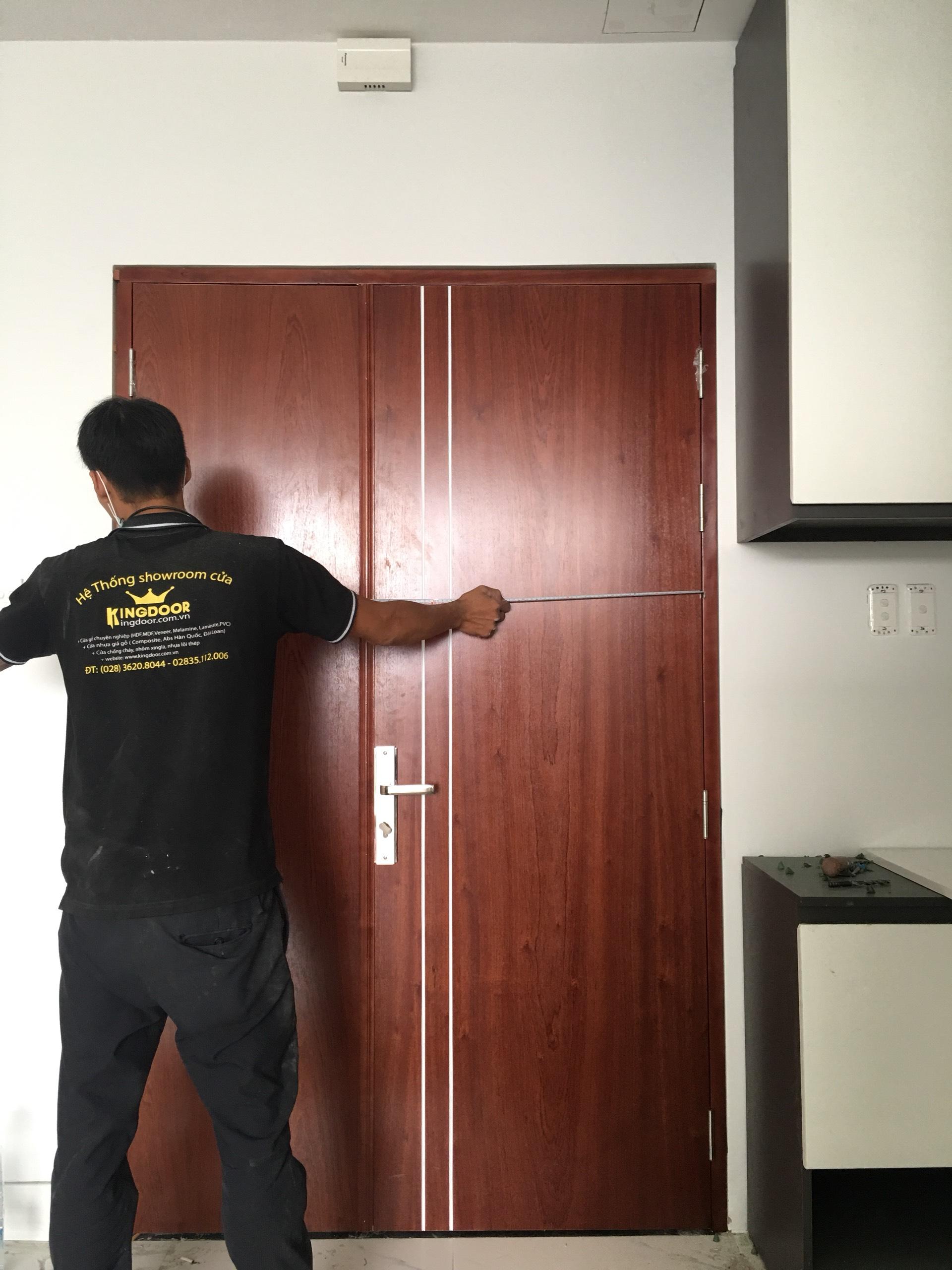 Kiểm tra lại kích thước cửa