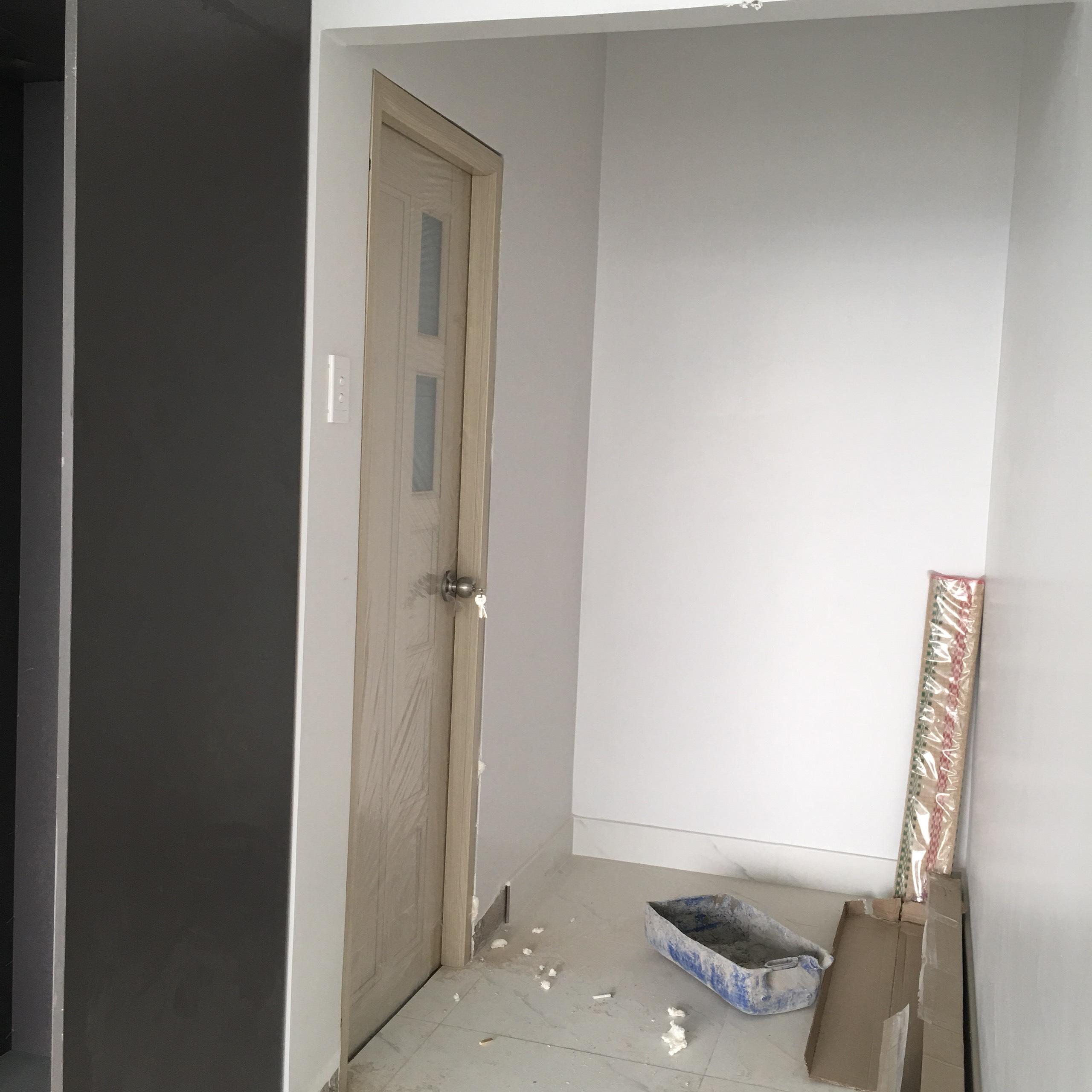 Cửa nhựa đài loan màu tương đối với cửa phòng ngủ