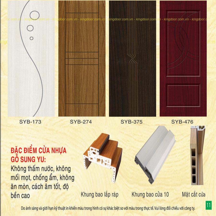 Cấu tạo cửa nhựa giả gỗ Composite