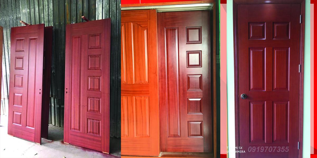 1 số mẫu cửa gỗ công nghiệp hdf veneer