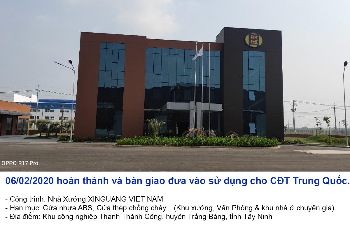Công trình nhà xưởng tại Tây Ninh