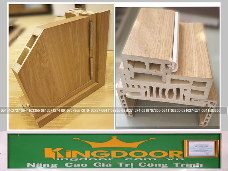 Khung bao và góc mẫu cửa nhựa gỗ Composite
