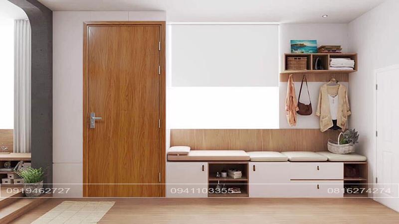 Cửa Composite dòng Lusury vân gỗ