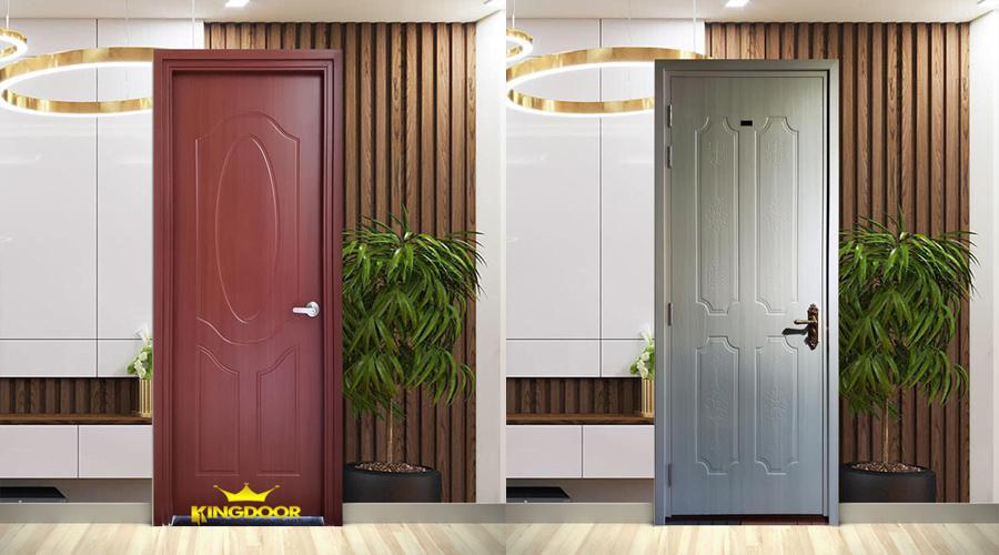 Mẫu cửa nhựa Composite hiện đại