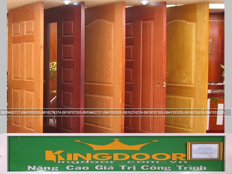 Cửa gỗ công nghiệp với nhiều mẫu mã đa dạng