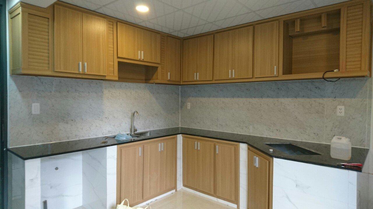 Tủ bếp thiết kế theo yêu cầu của khách hàng