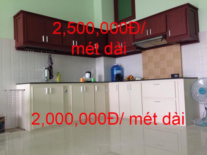 Giá tủ bếp nhựa giả gỗ Đài Loan