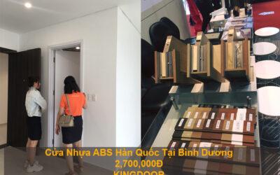 Cửa nhựa ABS Hàn Quốc tại Bình Dương