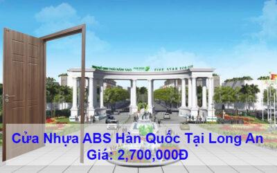 Cửa nhựa ABS Hàn Quốc tại Long An