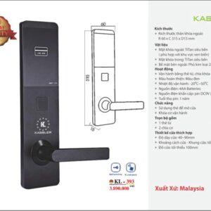 Khóa Điện Tử Kassler KL-393