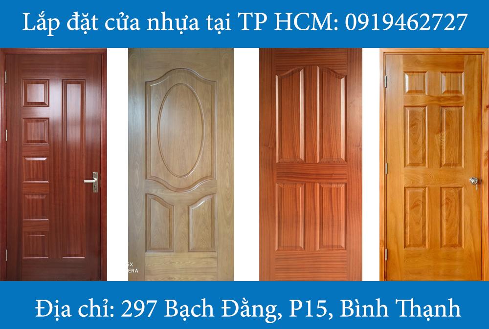 Mẫu cửa gỗ công nghiệp HDF 6B-3A-4A-6A